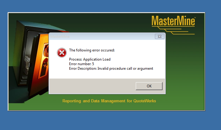 App Load Error